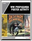 WWI Propaganda Poster Activity