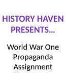 WWI Propaganda Poster Assignment
