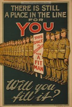 WWI Propaganda Poster Project