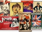 WWI Propaganda lesson and assignment