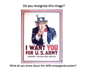 WWI Propoganda Poster