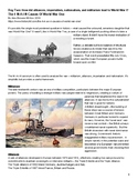WWI Reading Packet with Primary Source Documents and Graph