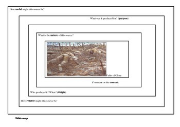 WWI Source Analysis worksheet 2