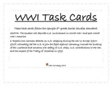 WWI Task Cards