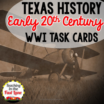 WWI Task Cards with Optional Self Checking QR Codes