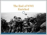 WWI: The End of WWI Differentiated Instruction PowerPoint