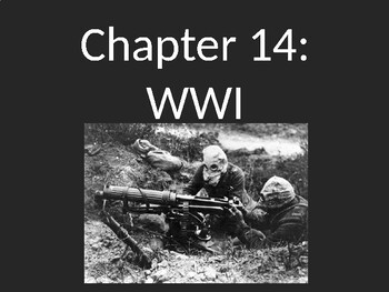 WWI - The Great War Begins PowerPoint
