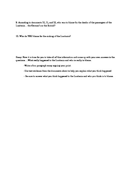 World war one essay questions essay compositions