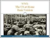 WWI: The US at Home PowerPoint Mini-Lesson