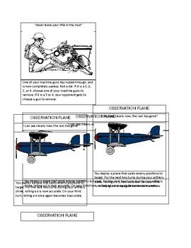 WWI Trench Warfare Board Game