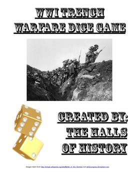 WWI Trench Warfare Dice Game