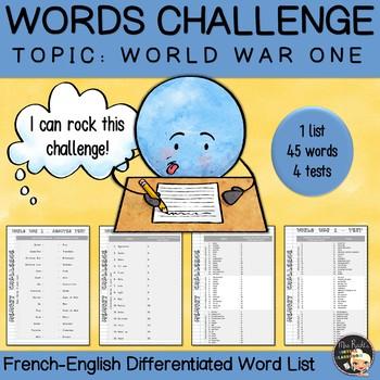 ESL Memory-Challenge - WWI