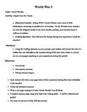 WWI: Trench Warfare Lesson Plan