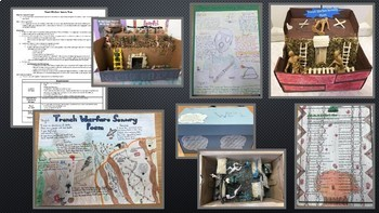WWI: Trench Warfare Project - Sensory Poem and Visual/Model