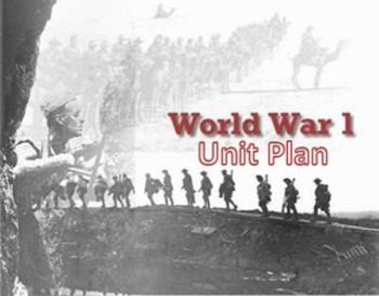 WWI UNIT PLAN