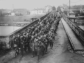 WWI - U.S. Enters the war