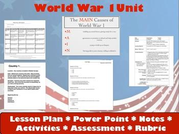 WWI Unit