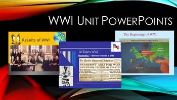 WWI Unit PowerPoints