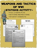 WWI Weapons and Tactics: Stations Activity