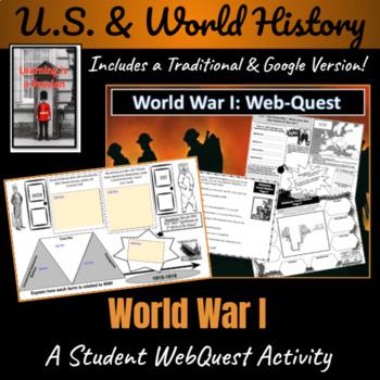 WWI Webquest and Graphic Organizer