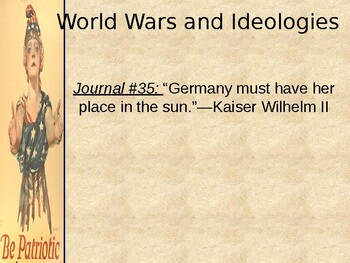 WWI: World War I Begins