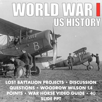WWI World War I Bundle US History