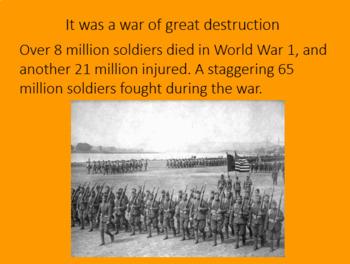 WWI World War One PowerPoint