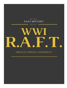 WWI Writing Assignment
