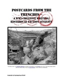 "WWI Writing/History Activity ~ ""Postcards From the Trenches"" w/ QR codes"