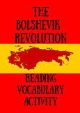 WWI and The Bolshevik Revolution Reading and Activity