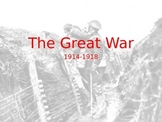 WWI Powerpoint (1600 slides with notes)