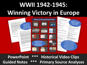 WWII 1942-1945: Allies Win Victory in Europe