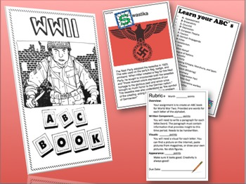 WWII ABC Book Project