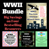 WWII American History Bundle Assessment Anticipation Proje