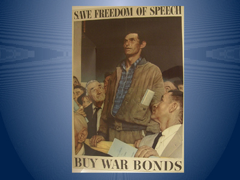 WWII American Propaganda (Rationing, War Bonds...)