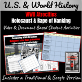 WWII Atrocities: Holocaust and Rape of Nanking Document-Based Activity