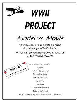 WWII Battles Project