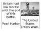 WWII Battles Spoons Game (Editable)