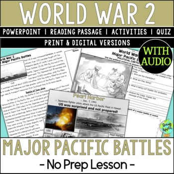 World War 2 Battles, World War II, WW2, WWII, Pacific