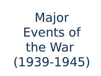 WWII Battles in Video