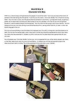 WWII Character Life Box