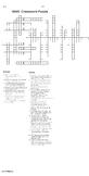 WWII Crossword puzzle