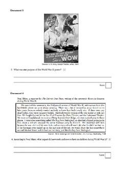 WWII DBQ Homework