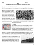 WWII Distance Learning: What were the origins of the war?