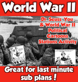 WWII- Dr. Seuss, You, and World War II Political Cartoons