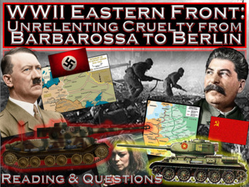 WWII Eastern Front: Unrelenting Cruelty from Barbarossa to Berlin