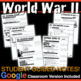 World War II Unit - PPTs w/Video Links, Primary Source Doc