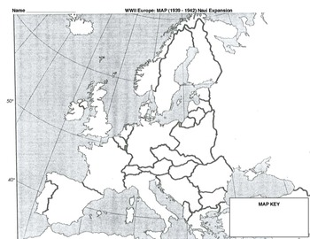 Europe Blank Map Worksheets & Teaching Resources | TpT