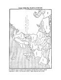 WWII: Europe Outline Map: World War II 1939-1941