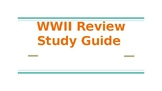 WWII Fill in Study guide